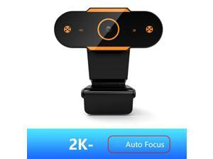 Balight AUTO FOCUS Webcam 2K Web Camera With Microphone Smart Webcams For Live Broadcast Video Calling Home Conference Work