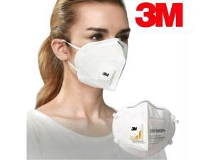 New Vented Safety Face Mask Pm2.5 Filter Masks Non-woven Anti-dust Safety Protective Mouth N95 Face Mask Ships FROM Local US STOCK(Listing for 2 X pcs masks,NOT for 1 box,only 2 masks)