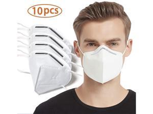 10pcs KN95 Pm2.5 Filter Masks Non-woven Anti-dust Safety Protective Mouth N95 Face Mask