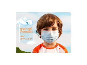 Kids Mask Disposable Face Mask Anti Dust Mask Children 50 Pcs