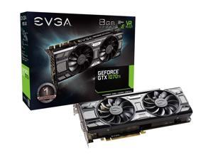 EVGA GeForce GTX 1070 Ti SC GAMING 08G-P4-5671-KR 8GB GDDR5 ACX 3.0 & Black Edition Double fan
