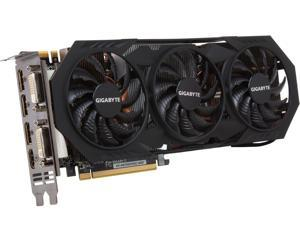 GIGABYTE GeForce GTX 970 4GB WINDFORCE 3X OC EDITION, GV-N970WF3OC-4GD Three fan