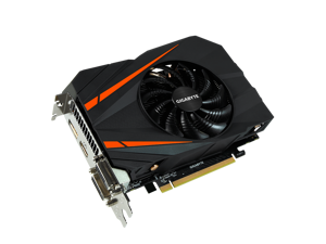 GIGABYTE GeForce® GTX 1060 Mini ITX OC 3G 8008 MHz GDDR5 192 bit PCI-E 3.0 x 16 7680x4320 Video Card