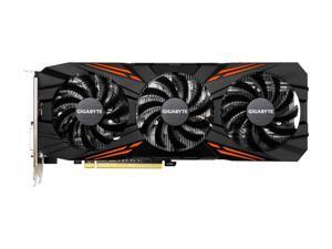 GIGABYTE GeForce GTX 1070 Ti DirectX 12 GV-N107TGAMING-8GD 8GB 256-Bit GDDR5 PCI Express 3.0 x16 SLI Support ATX Video Card