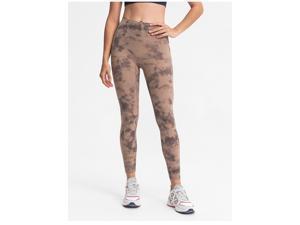 Yoga Fitness pants women's high waist Yoga Pants women's high elastic Capris
