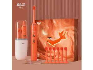BAIR Sonic Electric Toothbrush Waterproof Men's and Women's Adult Rechargeable Whitening Automatic Brush Couple Gift box