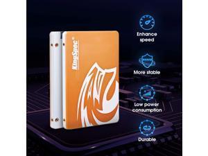 """KingSpec SSD 64GB 128GB 512GB 256GB 2.5"""" SATA3 Internal Solid State Drive for PC, Laptop, Mac"""