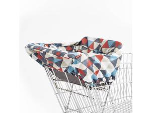 Skip Hop Take Cover Shopping Cart & High Chair Cover, Triangles