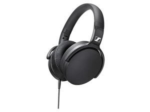 Sennheiser HD 400S Closed Back, Around Ear Headphone with One-Button Smart Remote on Detachable Cable
