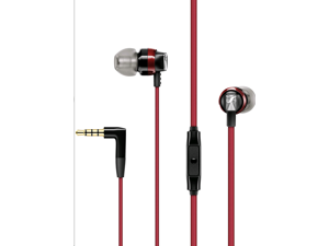 Sennheiser CX 300S In-Ear Headphones with Universal Smart Remote Control-Red