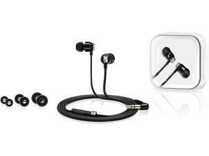 Sennheiser CX 3.00 in-ear headphones, black.