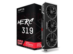 XFX Speedster MERC319 RX 6800 XT Black Edition Gaming Graphics Card with 16GB GDDR6