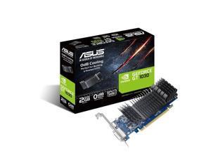 ASUS GeForce® GT 1030 2GB GDDR5 low profile graphics card for silent HTPC build (with I/O port brackets) GT1030-SL-2G-BRK