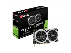 MSI GeForce GTX 1660 DirectX 12 GTX 1660 VENTUS XS C 6G OCV1 6GB 192-Bit GDDR5 PCI Express 3.0 x16 Video Card