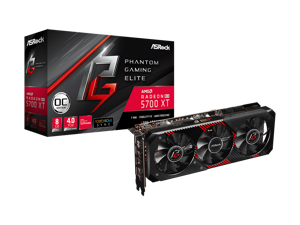 ASROCK AMD Radeon RX 5700 XT Phantom Gaming Elite 8GB GDDR6 Video Card