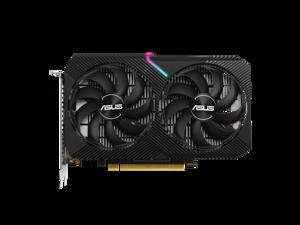 ASUS Dual GeForce GTX 1650 4GB GDDR6 PCI Express 3.0 Video Card DUAL-GTX1650-O4GD6-MINI