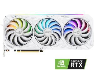 ASUS ROG Strix GeForce RTX 3080 10GB GDDR6X PCI Express 4.0 Video Card ROG-STRIX-RTX3080-O10G-WHITE-V2 LHR