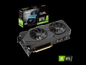 ASUS Dual GeForce RTX 2080 SUPER 8GB GDDR6 PCI Express 3.0 SLI Support Video Card DUAL-RTX2080S-8G-EVO-V2