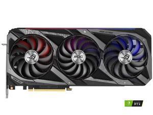 ASUS ROG Strix GeForce RTX 3090 24GB GDDR6X PCI Express 4.0 SLI Support Video Card ROG-STRIX-RTX3090-O24G-GAMING