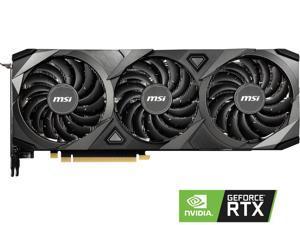 MSI Ventus GeForce RTX 3090 24GB GDDR6X PCI Express 4.0 SLI Support Video Card RTX 3090 VENTUS 3X 24G OC
