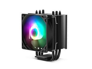 Vetroo V3 Black CPU Cooler with 92mm CPU Cooling Fan and 3 Direct Contact CPU Heatsink Pipes Support Intel i3/i5/i7 CPU Socket LGA 775/1366/1150/1151/1155/1156 & AMD CPU