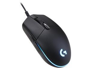 Logitech G PRO Hero Gaming Mouse with Up to 16,000 dpi High-performance HERO 16K Sensor Wired Mouse- 910-005439- Black