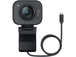 Logitech StreamCam - 1080P HD 60fps Streaming Webcam with USB-C and Built-in Microphone - USB Computer Camera for Gaming Conferencing , Mac Xbox YouTube Skype OBS, Free-Driver Fast Autofocus