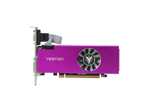 Yeston AMD Radeon RX 560 Graphics Card (FAST SHIPPING 7-9 DAY), 4GB 128-Bit GDDR5 PCI Express 3.0 x 8, VGA/HDMI/DVI-D Tri-ports, DirectX 12, OpenGL 4.5, Low Profile GPU, Desktop Gaming Video Card