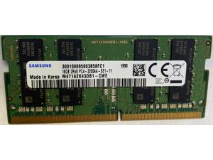Samsung 16GB DDR4 3200MHz PC4-25600 1.2V 2Rx8 260-Pin SODIMM Laptop RAM Memory Module M471A2K43DB1-CWE