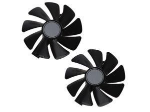 2Pcs CF1015H12S 12V 0.42A Cooler Fan Replacement For Sapphire NITRO RX 580 570 480 470 4G RX Vega64 8GB Graphics Card Fans