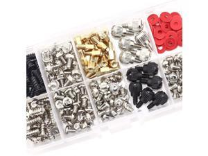 300PCS Personal Computer Screw Standoffs Set Kit for Hard Drive Computer Case Motherboard Fan Power Graphics