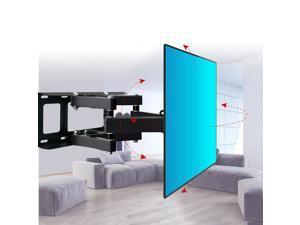 "32-70"" Full Motion LCD LED Plasma Flat TV Wall Mount Bracket 55 60 65 70"""