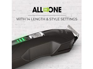 All-in-1 Lithium Powered Grooming Kit, Beard Trimmer