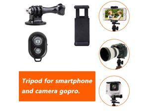 Phone Tripod, Octopus Tripod with Wireless Remote Phone Holder Mount Use as iPhone Tripod, Cell Phone Tripod, Camera Tripod, Travel Tripod,Tabletop Tripod for iPhone Gopro