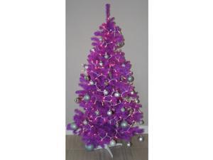 6FT Artificial Purple Christmas Tree Xmas Decoration