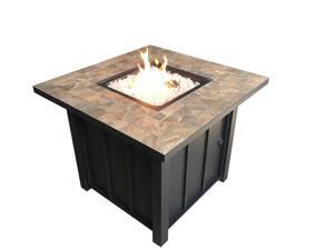 Patio Heaters Square Tile Top Fire Pit