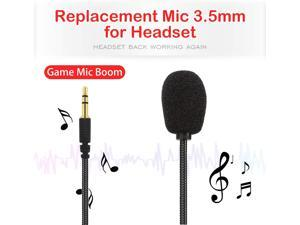 Replacement Mic 3.5mm for Turtle Beach - Microphone for Headset - for Turtle Beach mic Replacement