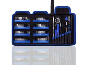 Professional Computer Repair kit, Precision Eectronic Screwdriver Set, with 112 Magnetic Bit, Suitable for Phone, iPhone, PC, MacBook, Laptop, PS4, Xbox Repair of Small Technical Tools