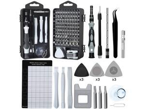 Precision Screwdriver Set, 122pcs Magnetic Repair Tool Kit for iPhone Series/Mac/iPad/Tablet/Laptop/Xbox Series/PS3/PS4/Nintendo Switch/Eyeglasses/Watch/Cellphone/PC/Camera/Electronic