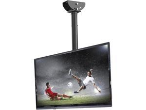 Ceiling TV Mount Adjustable Bracket For TV Fits 26 to 55 inch TV up to 66 lbs, Max VESA 400x400mm