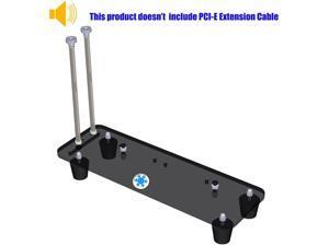 ATX Case,PCI- E 3.0 16X Graphics Card Vertical Kickstand/Base for DIY ATX case Vertical gpu Mount ATX case