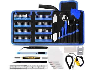 136 in 1 Electronics Repair Tool Kit Professional Precision Screwdriver Set Magnetic Drive Kit with Portable Bag