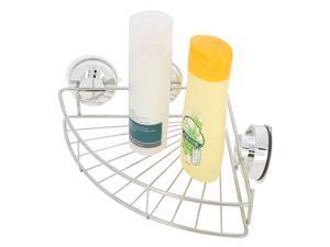 Bathroom Triangular Shower Caddy Shelf Corner Bath Storage Holder Organizer
