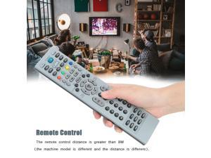 Remotes Controller TV Remote Control HD TV Remote Control HD Grey For LCD TV