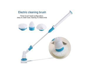 Electric Cordless Spin Scrubber 360?° Adjustable 3 Head for Tub Tile Floor Wall