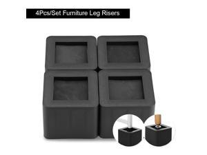 """3"""" Furniture Risers Bed Table Chair Riser 4 Piece Utopia Bedding Heavy Duty"""