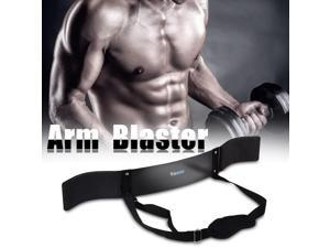 Black Heavy Duty Arm Body Building Curl Isolater Muscle Builder Bar Fitness  Accessory