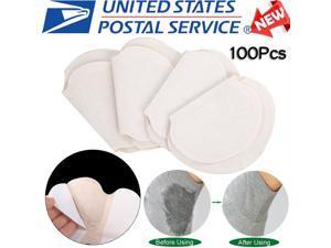 Underarm Sweat Pads,100pcs / 50Pair Absorb Sweat Armpits Disposable Perspiration Pads Deodorant