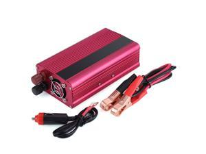 Car Vehicle Power Inverter 1500W DC 12V to AC 110V W/ Dual Outlets for Home Car
