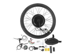 """Quality 48V 1000W Electric Bicycle Hub Motor Conversion Kit 26"""" Front Wheel 48V 1000W Electric Bicycle E-Bike Front Wheel Motor Conversion Set Kit Accessories"""